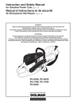 Instruction and Safety Manual Manuel d`instructions et de