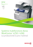 Système multifonctions Xerox WorkCentre® 4250