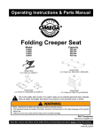 Folding Creeper Seat - Shinn Fu America Homepage