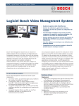Logiciel Bosch Video Management System
