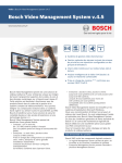 Bosch Video Management System v.4.5