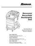 Recovery/ Recycling/ Recharging Unit