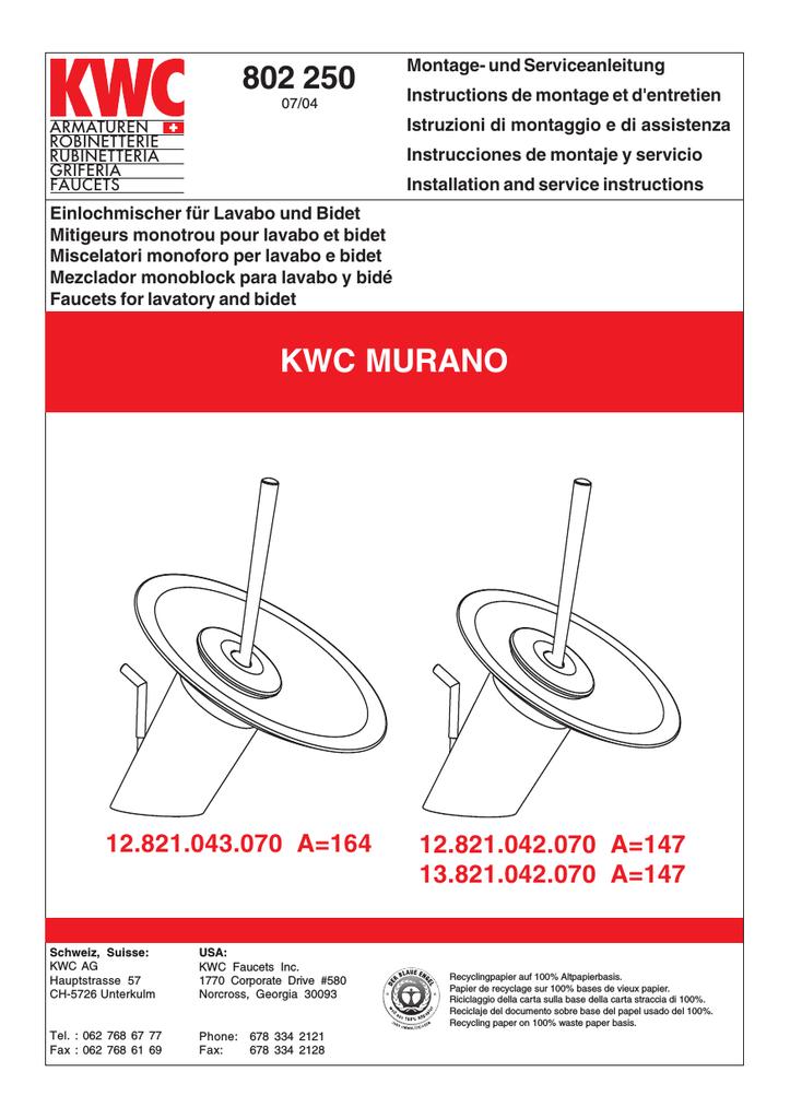 802 250 Kwc Murano