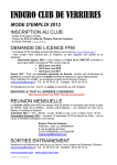 ENDURO CLUB DE VERRIERES