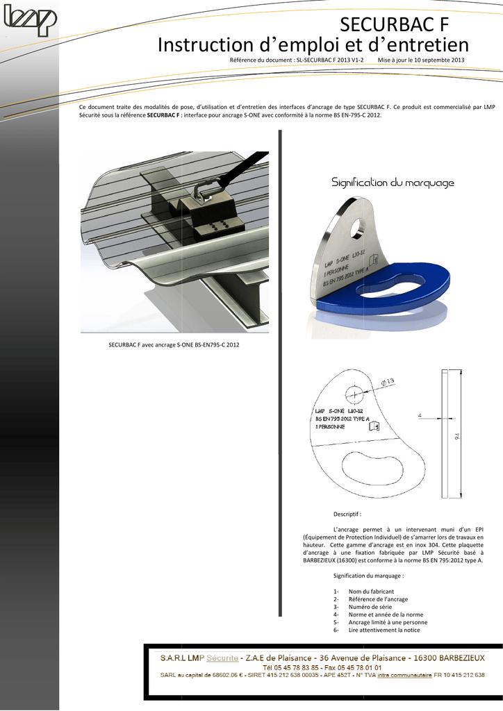 Dossier techniquesl securbac f 2013 v1 2 sciox Gallery
