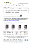 « Don`t worry, be API ! » guide pour l`iPad - blogs.rpn.ch, plate