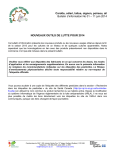 Bulletin d`information No 01 – 11 juin 2014 - Agri