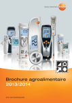 Brochure agroalimentaire