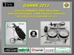 Chariots de Golf MANUEL design