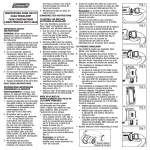 InstructIon cArD cHt10 3AAA HEADLAMP FIcHE D