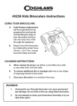 #0238 Kids Binoculars Instructions
