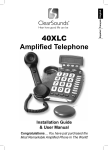 40XLC Amplified Telephone