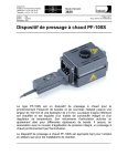 Dispositif de pressage à chaud PF-100S