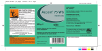 Accent® 75 WG
