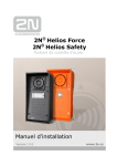 2N® Helios Force 2N® Helios Safety Manuel d`installation