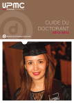 guide doctorant - Institut de formation doctorale