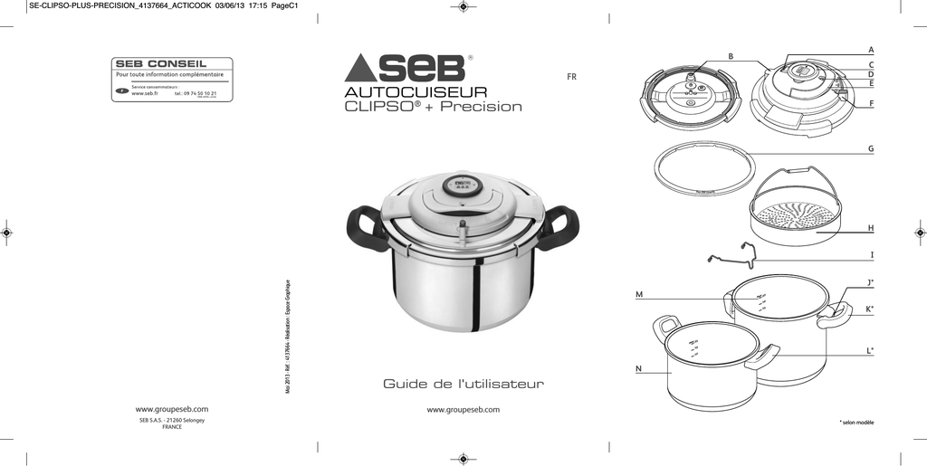 AUTOCUISEUR CLIPSO® + Precision