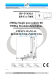 RP-Tools RP-EA-600E User Manual
