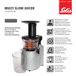 MULTI SLOW JUICER