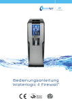 Bedienungsanleitung Waterlogic 4 Firewall™