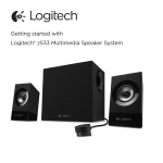 Getting started with Logitech® z533 Multimedia Speaker System