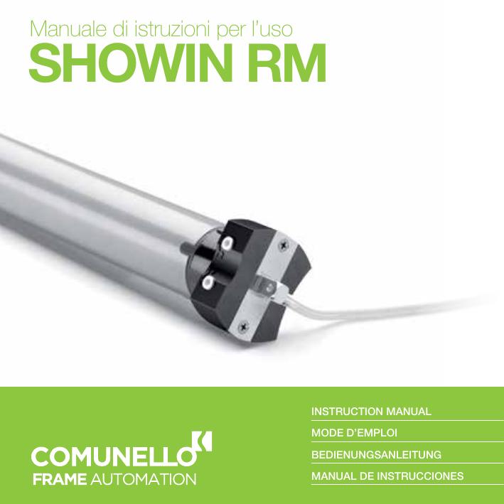 COMMANDE A DISTANCE MOWIN R6-CONTROL pour systèmes d/'automatisation Comunello