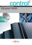 KVM series2-1602/0801 - Fujitsu manual server