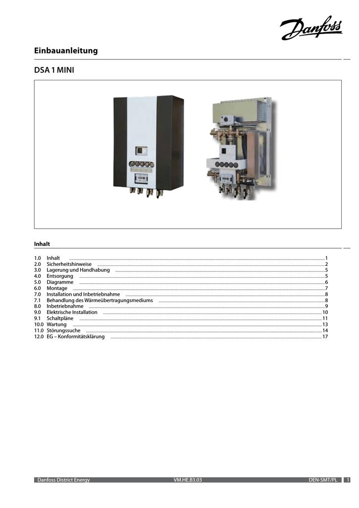 Einbauanleitung DSA 1 MINI