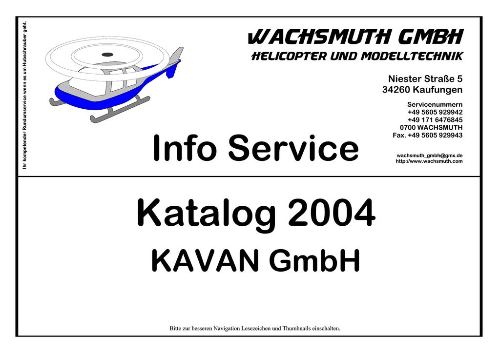 KAVAN Katalog 2004