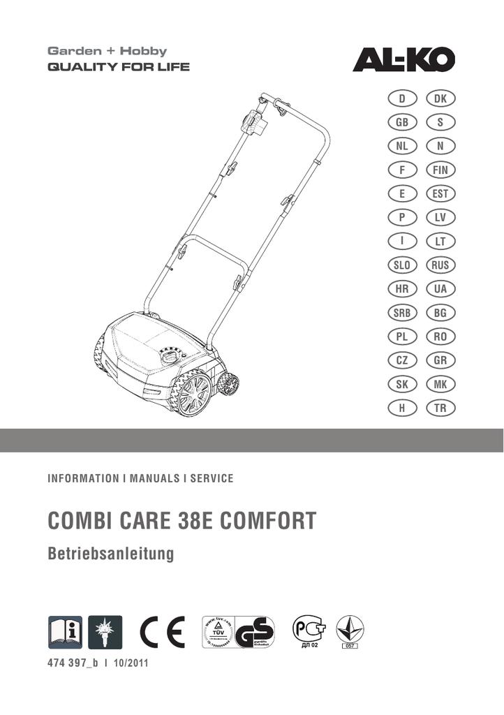 Combi Care 38e Comfort Al Ko
