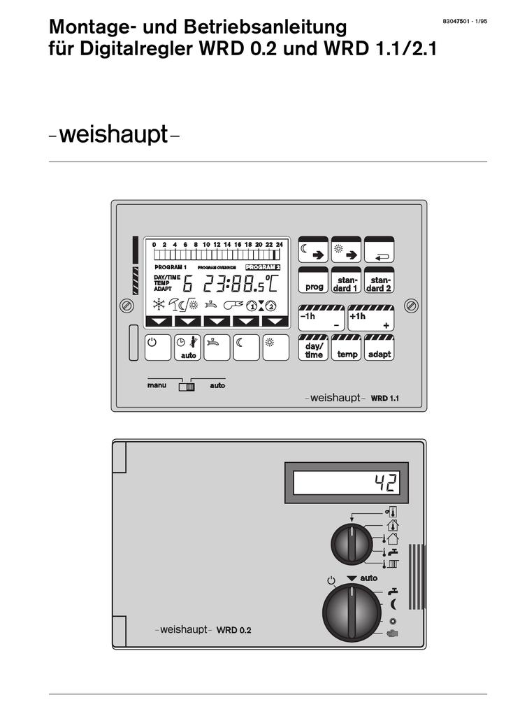 1. Heizungsregler WRD 0.2 - fin