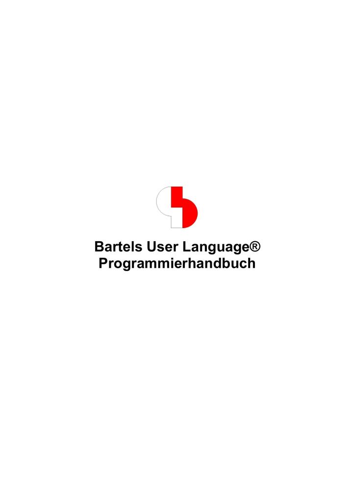 PDF-Version - bei Bartels