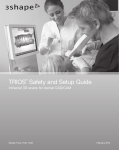 TRIOS® Safety and Setup Guide - Support