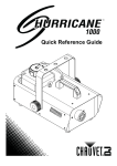 Hurricane 1000 Quick Reference Guide Rev. 1 Multi