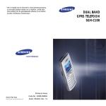Samsung AA59-00411A - Original Remote Control Specifications