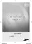 Samsung WD8122CVB/XST User Manual