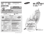 Samsung VC-6600A User Manual