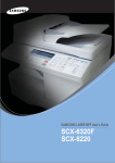 Samsung SCX-6320F User Manual