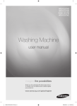 Samsung WD8122CVB User Manual