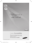 Samsung RL23THCSWFridge Freezer User Manual