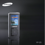 Samsung YP-T55XL User Manual