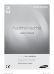 Samsung WF1802LSW2 User Manual