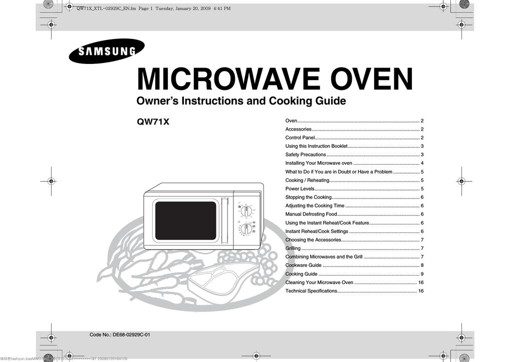 Samsung Qw71x