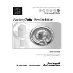 FactoryTalk View Site Edition User's Guide