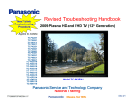 Revised Troubleshooting Handbook