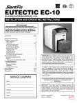 EC-10 Installation Operating Instructions-English
