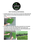 TURF TILE INSTALLATION MANUAL.