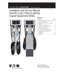 Installation and Service Manual Dual AC Level 2 Electric Vehicle