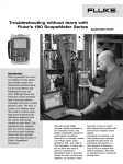 Troubleshooting without tears with Fluke's 190 ScopeMeter Series