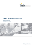 GC864 Hardware User Guide